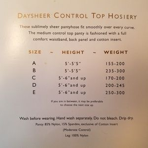 Lane Bryant Accessories - NIP Lane Bryant Daysheer Control Top Size D
